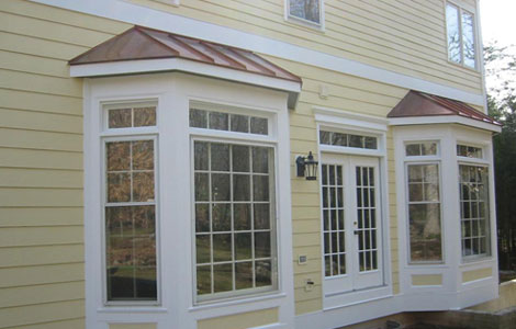 Bay Window Covers Cypress Metals