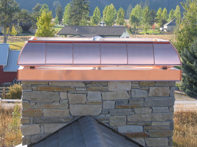 Chimney Cap Salt Lake City Cypress Metals