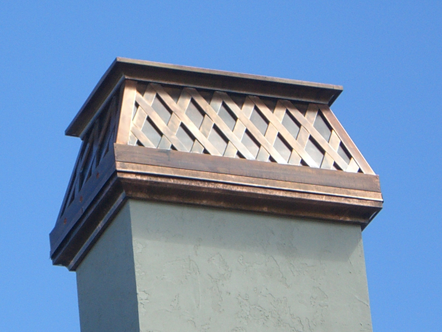 Chimney Cap Salt Lake City Cypress Metals